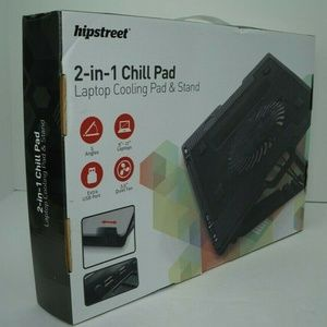 Hipstreet 2-in-1 Chill pad PC Cooling Stand